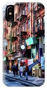New York City Chinatown IPhone Case