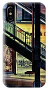 New York City Elevated Subway Stairs IPhone Case
