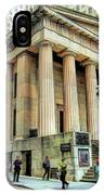 New York City Federal Hall IPhone Case