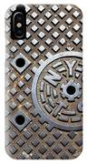 New York City Manhole Cover IPhone Case