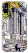 New York City Public Library IPhone Case