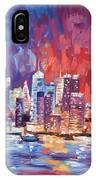 New York City Skyline 02 IPhone Case