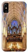 New York City St Patrick's Cathedral Organ IPhone Case