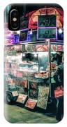 New York City Street Vendor IPhone Case