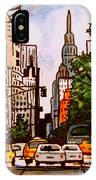 New York City Taxis IPhone Case