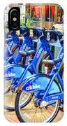 New York Citybike 1 IPhone Case