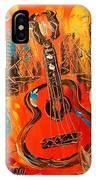 New York Guitar IPhone Case