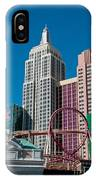 New York New York Hotel IPhone Case