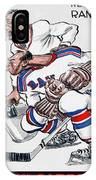 New York Rangers 1960 Program IPhone Case