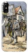 New York: Stamp Act , 1765 IPhone Case