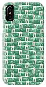 New York Street Sign Times Square  IPhone Case