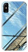 New York Usa  Brooklyn Bridge Towards Manhattan. IPhone Case