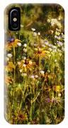New York Wildflowers Xxvi IPhone Case