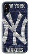 New York Yankees Brick Wall IPhone Case