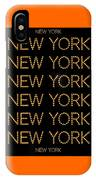 New York No 3  IPhone Case