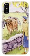 New Yorker June 11 1955 IPhone X Case