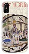 New Yorker May 12 1951 IPhone X Case
