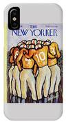 New Yorker October 25 1958 IPhone Case