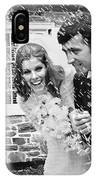 Newlyweds Showered With Rice, C.1960-70s IPhone Case