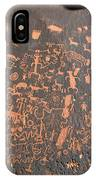 Newspaper Rock IPhone Case