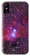Ngc 2264 The Christmas Tree Cluster In Monoceros IPhone Case