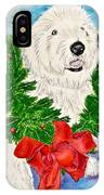 Nicholas Christmas 2013 IPhone Case