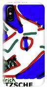 Nietzsche Poster IPhone Case