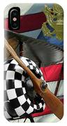 Nieuport 28c Bucking Mule IPhone Case