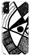 Black And White 20/night And Day 1 IPhone X Case