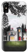 Italian House Country House Detail From Night Bridge  IPhone Case
