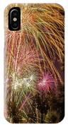 Night Burst IPhone Case by Tyson Kinnison