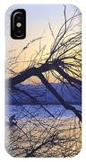 Night Fishing In Barr Lake Colorado IPhone Case