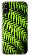 Night Forest Frond IPhone Case