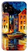 Night Resting Original Oil Painting  IPhone Case
