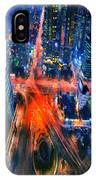 Night Traffic  IPhone Case
