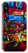 Nightlights On Main Street IPhone Case