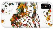 Nikki Sixx Paint Splatter IPhone Case