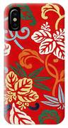 Nishike Brocade With Paulownia Arabesque IPhone Case