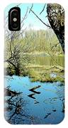 Nisqually Pond IPhone Case