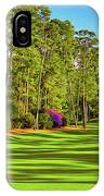No. 10 Camellia 495 Yards Par 4 IPhone Case