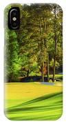No. 11 White Dogwood 505 Yards Par 4 IPhone Case