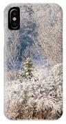 Snowy Owl Flight IPhone Case