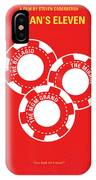 No056 My Oceans 11 Minimal Movie Poster IPhone Case