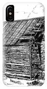 Nolan Corners Sharecropper's Shack IPhone Case