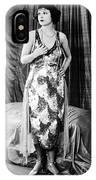 Norma Talmadge IPhone Case