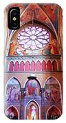 North Aisle - Sanctuary In Osijek Cathedral IPhone Case