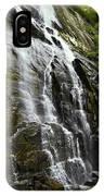 North Carolina Waterfall Hickory Nut Falls Photography  IPhone Case