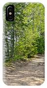 North Country Trail In Pictured Rocks National Lakeshore-michigan  IPhone Case