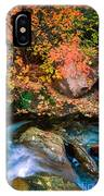 North Creek Fall Foliage IPhone Case