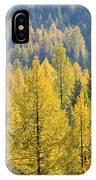 North Idaho Gold IPhone Case